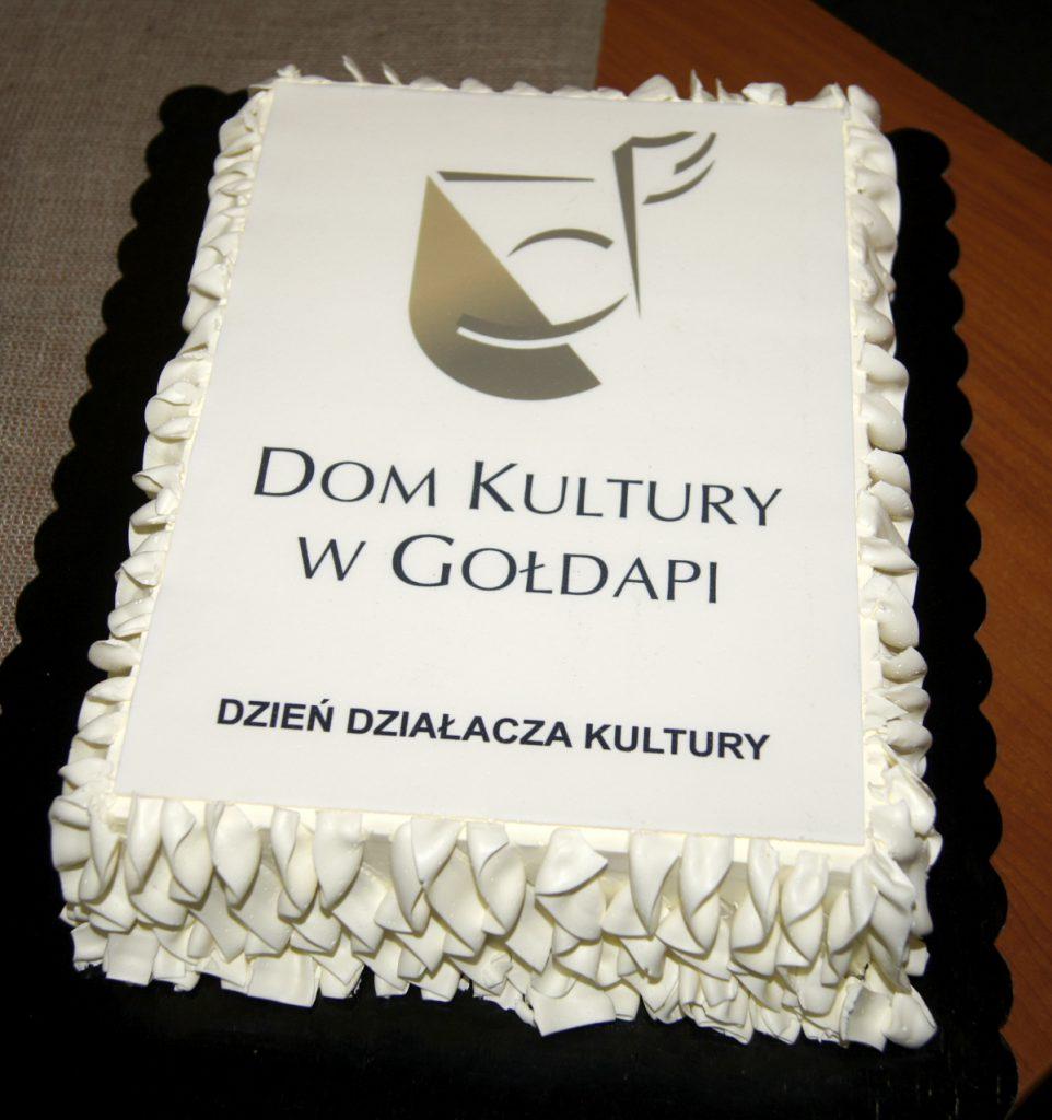 Tort Dom Kultury w Gołdapi