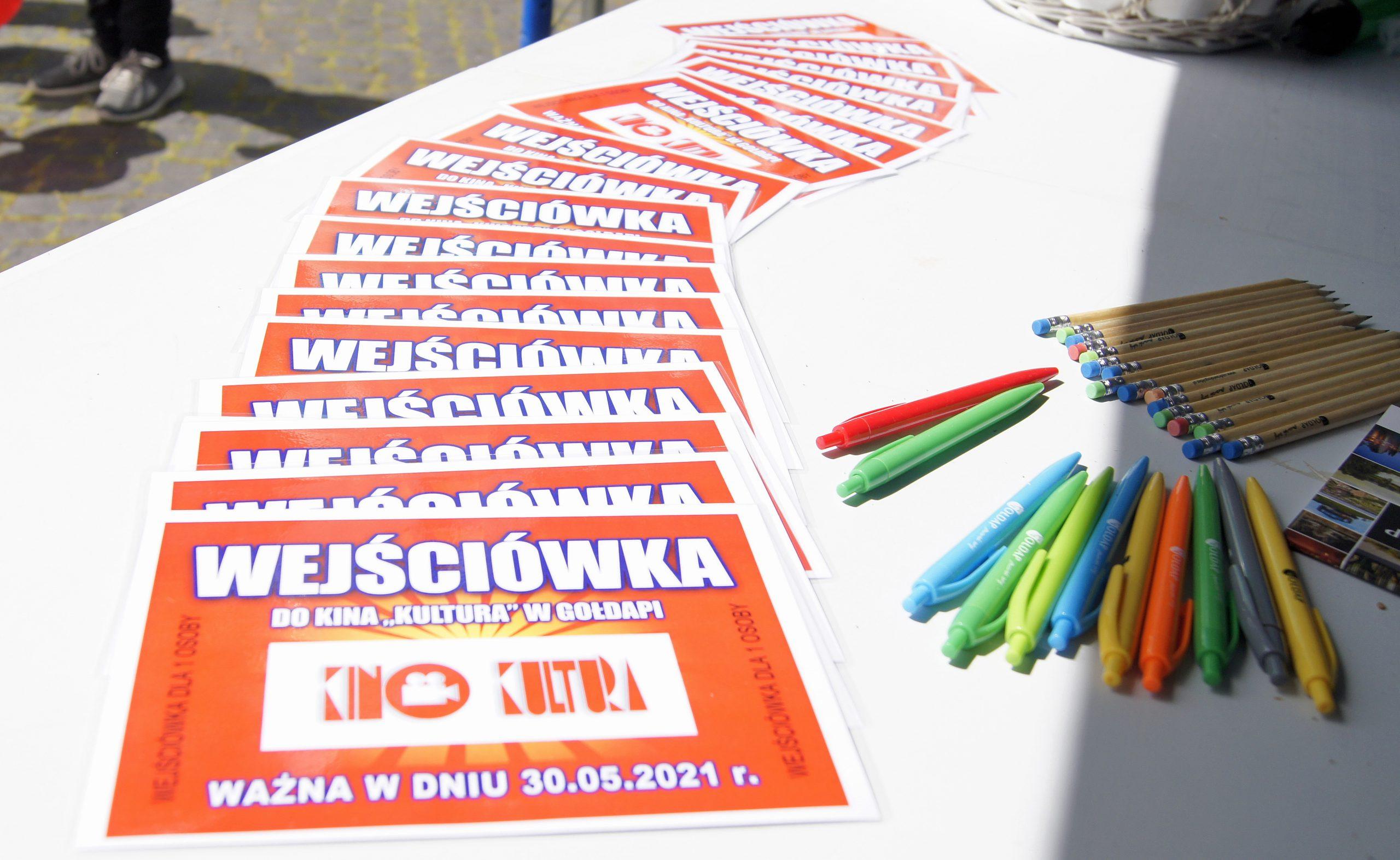 Wejściówka Dom Kultury w Gołdapi