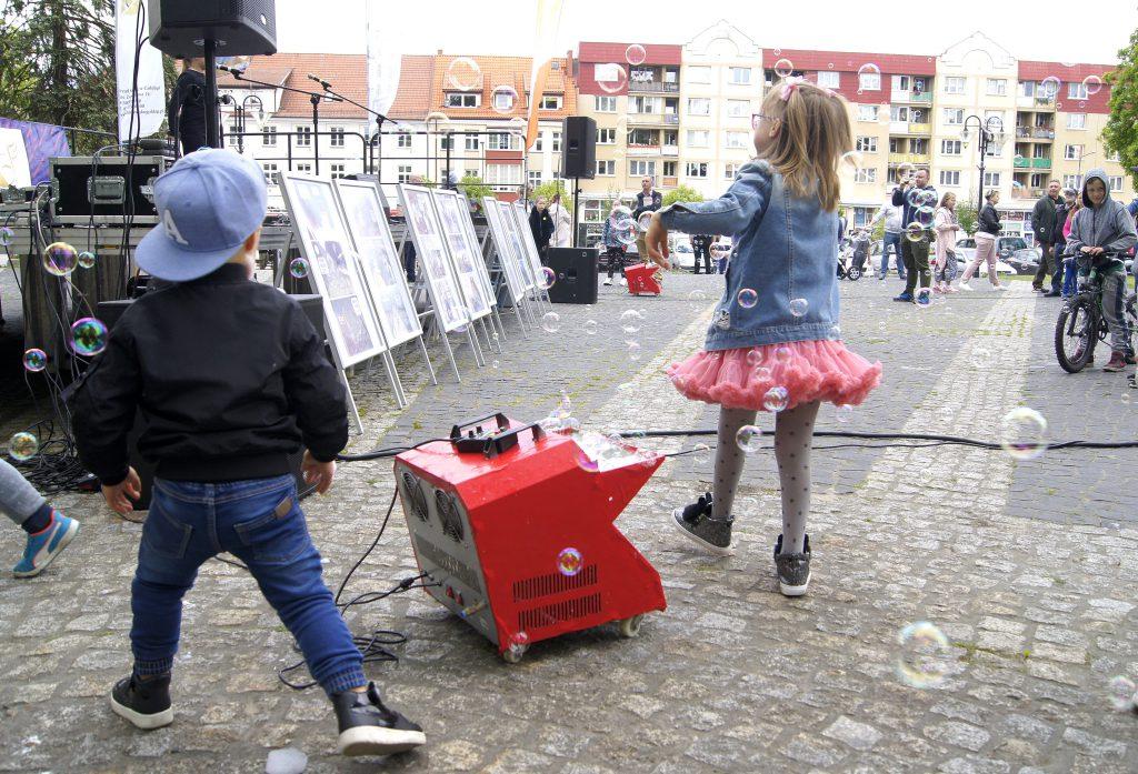 Dzień Dziecka w Parku Miejskim w Gołdapi