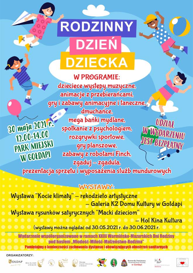Plakat Dzień Dziecka 2021
