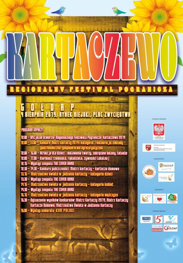Plakat -Kartaczewo 2019
