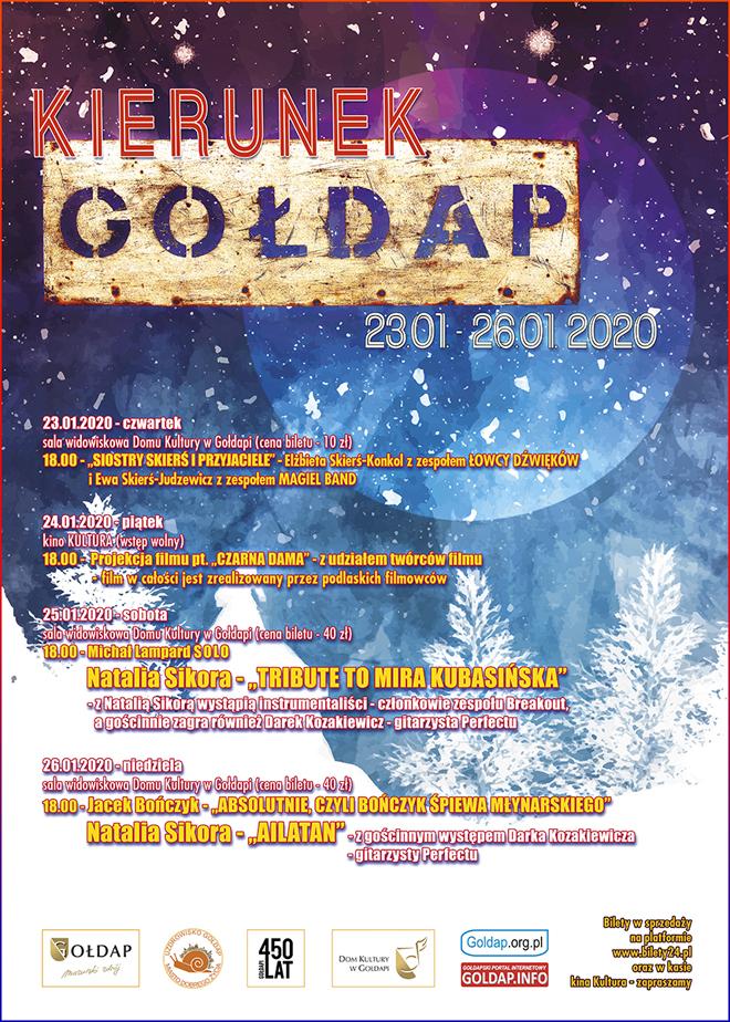 Plakat - Kierunek Gołdap 2020