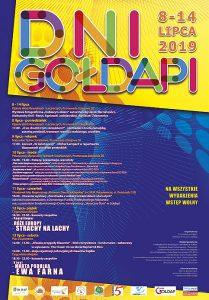 Plakat Dni Gołdapi 2019