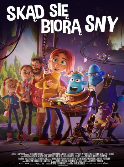 Plakat filmu Skąd się biorą sny
