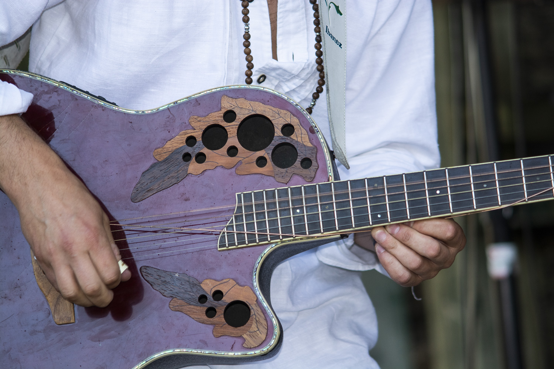 Zdjęcie pierwszego dnia Festiwalu Gitarowego Erupcja