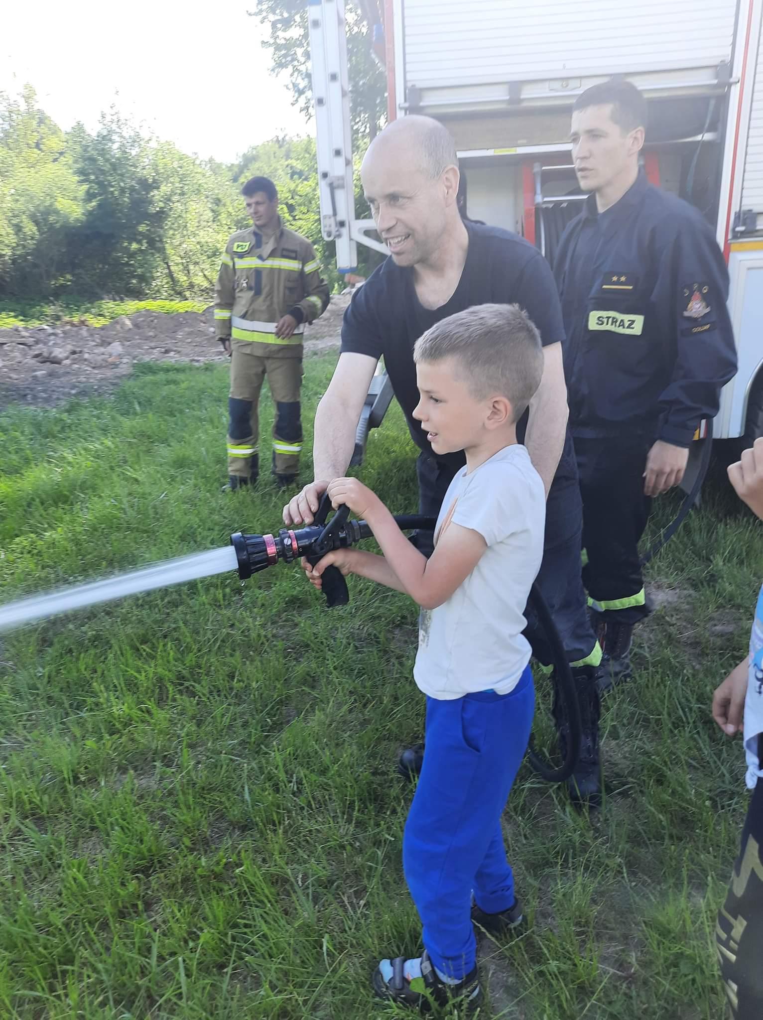 Spotkania z psychologiem oraz pracownikami Komendy Powiatowej Państwowej Straży Pożarnej w Gołdapi