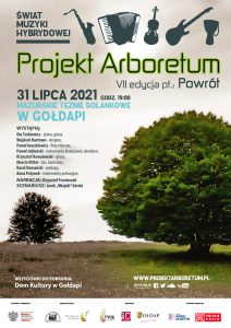 Plakat projektu Arboretum