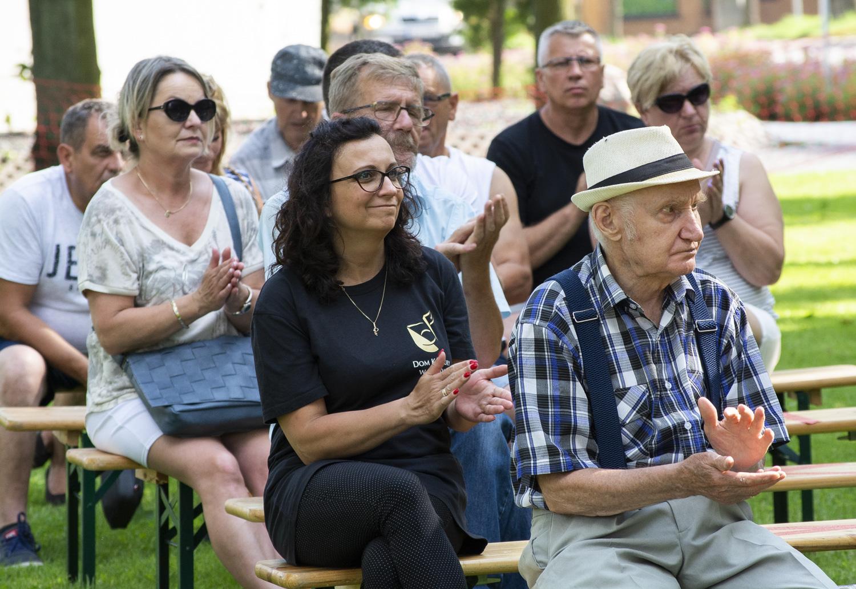 Zdjęcie z obchodów 76  rocznicy Obławy Augustowskiej.