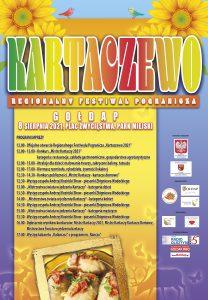 Plakat Kartaczewo 2021