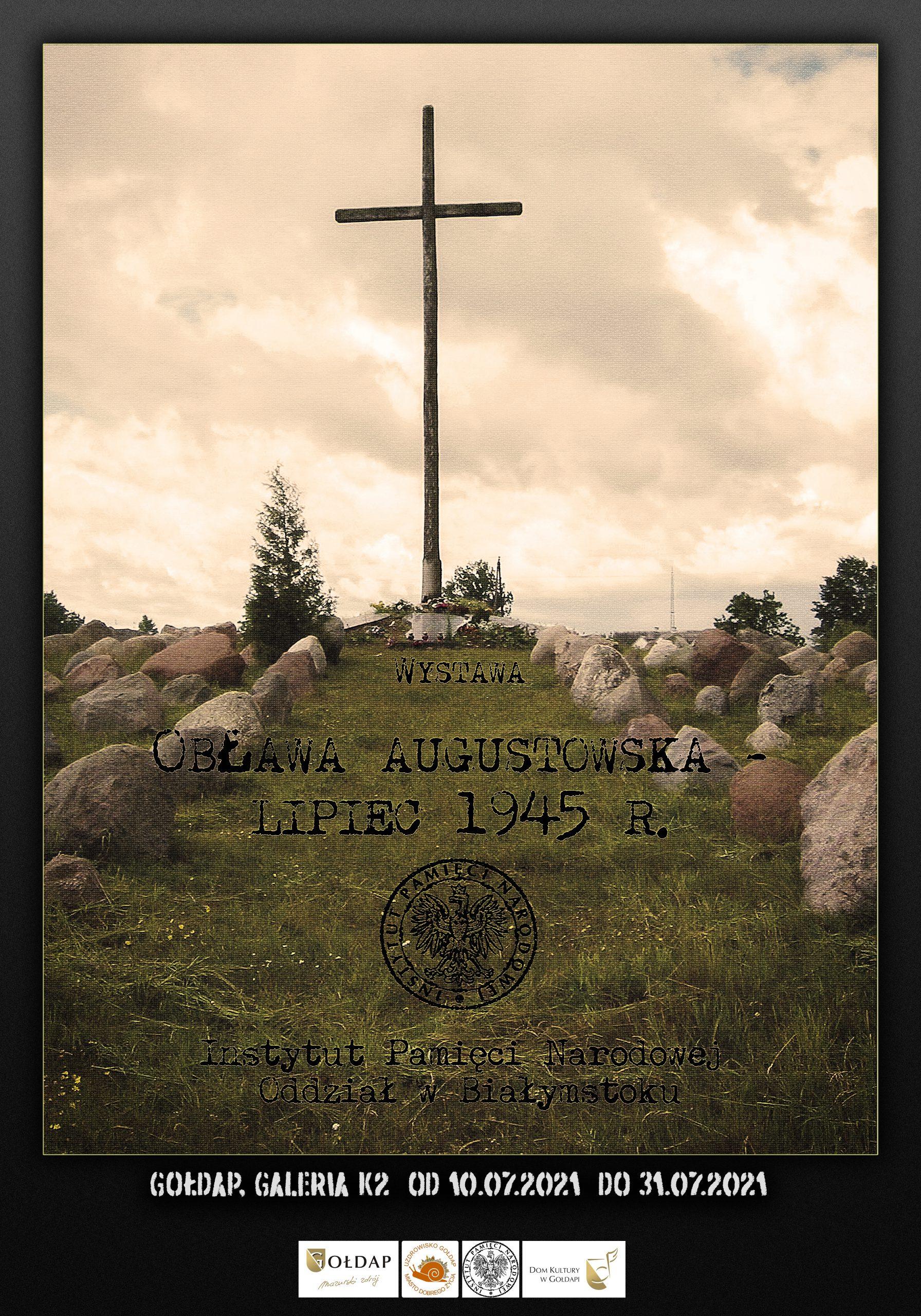 Plakat 76. rocznicy Obławy Augustowskiej