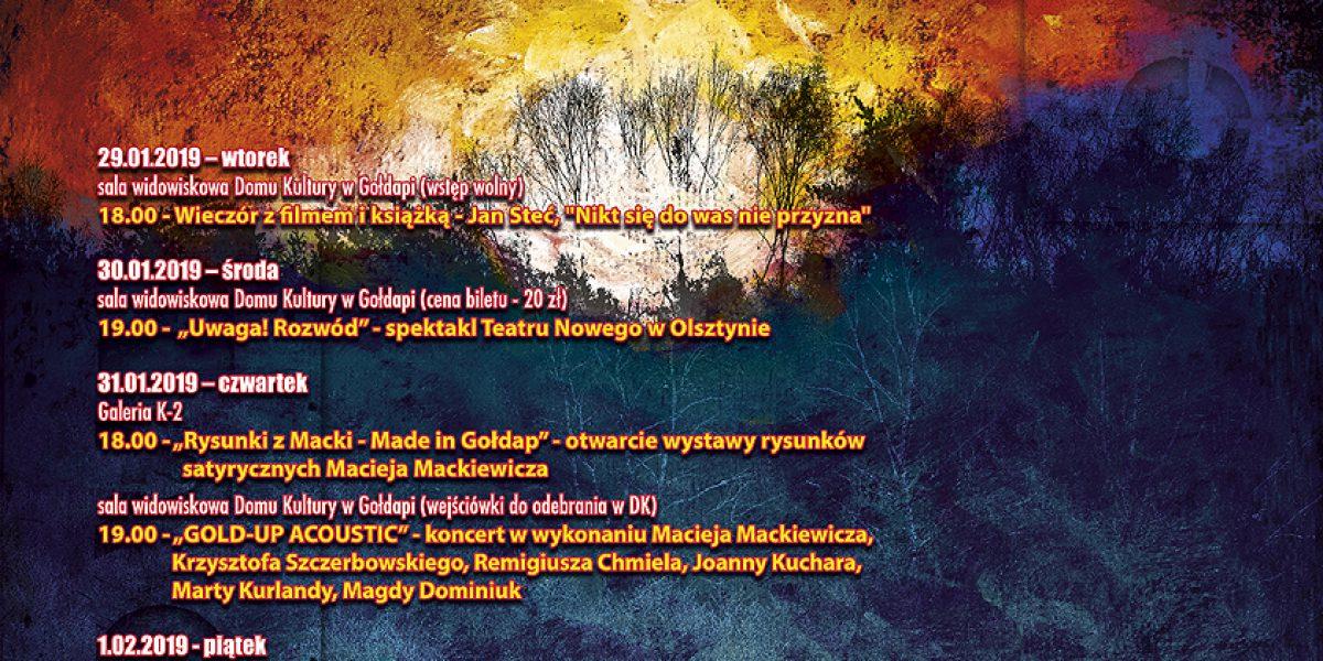 Kierunek Gołdap- plakat